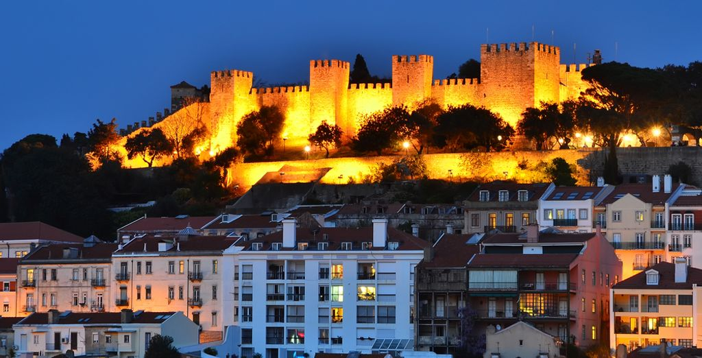 The historical Castle of Sao Jorge