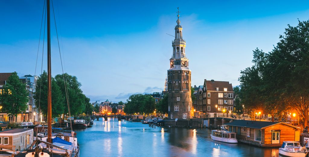 Spend them exploring Amsterdam's canals and world-class galleries