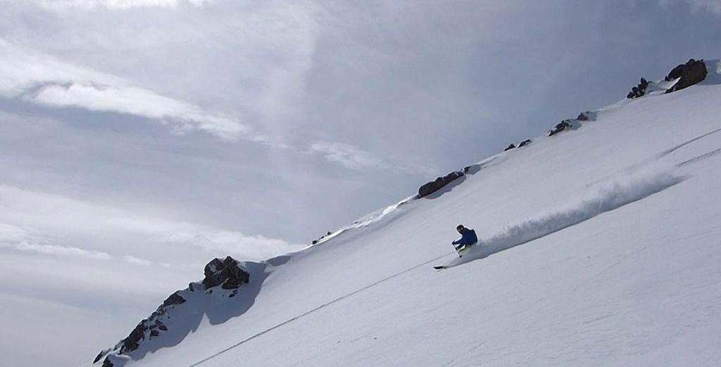 ski in february