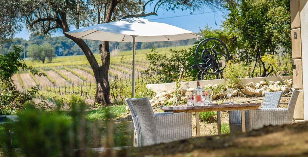 The bistro and bar serve elegant Mediterranean cuisine