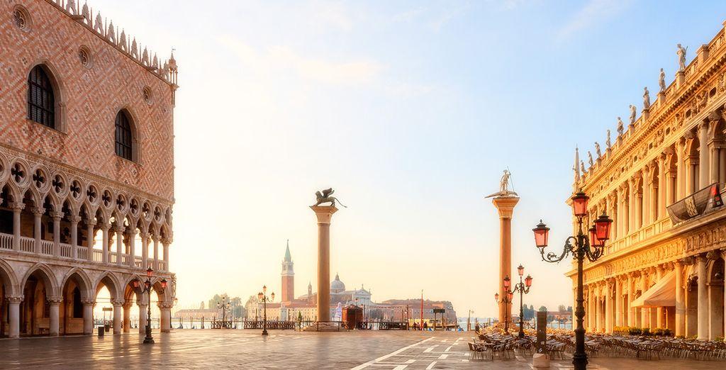 And explore Venice's famous landmarks like St Mark's Square