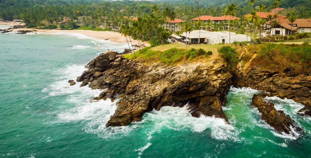 Located on Tangalle Coast in Sri Lanka