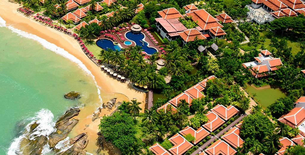 Situated on one of Thailand's most sought after beaches
