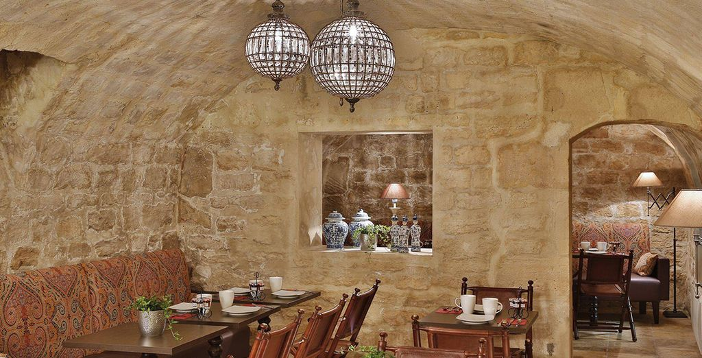 Then return to your hotel to dine in stylish surroundings