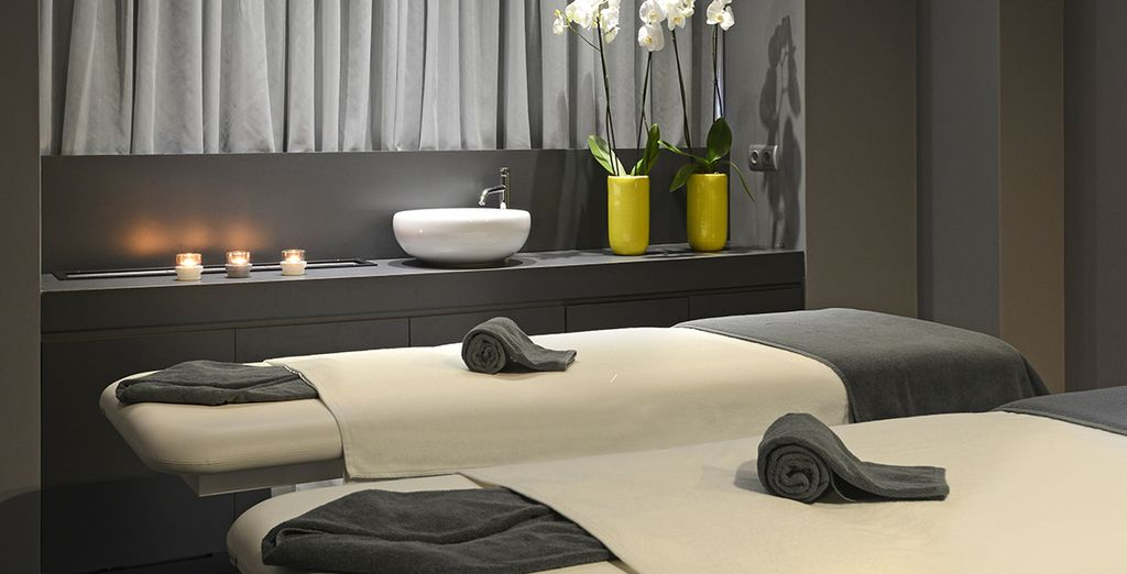 Finish with a treatment for the ultimate spa journey