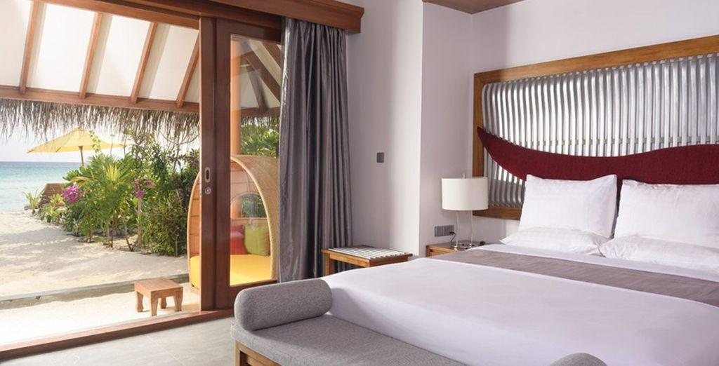 Where our members can enjoy a Beach Villa