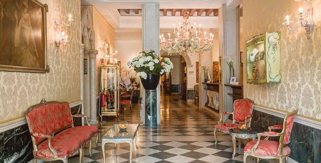 Welcome to the 4* Boscolo Bellini Hotel