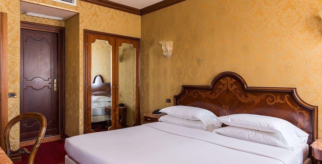 Choose between a Classic room