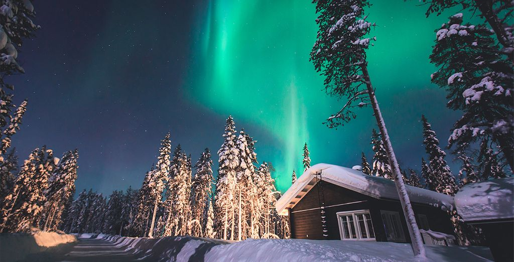 Discover the snowy wonderland of Lapland