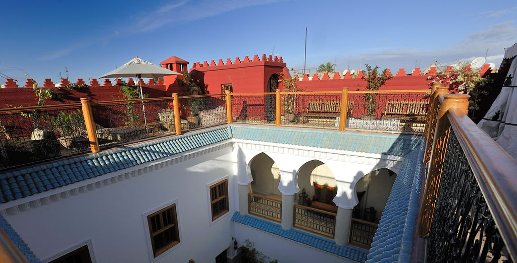 Stay at Riad Asrari - a welcoming oasis in the heart of the Medina