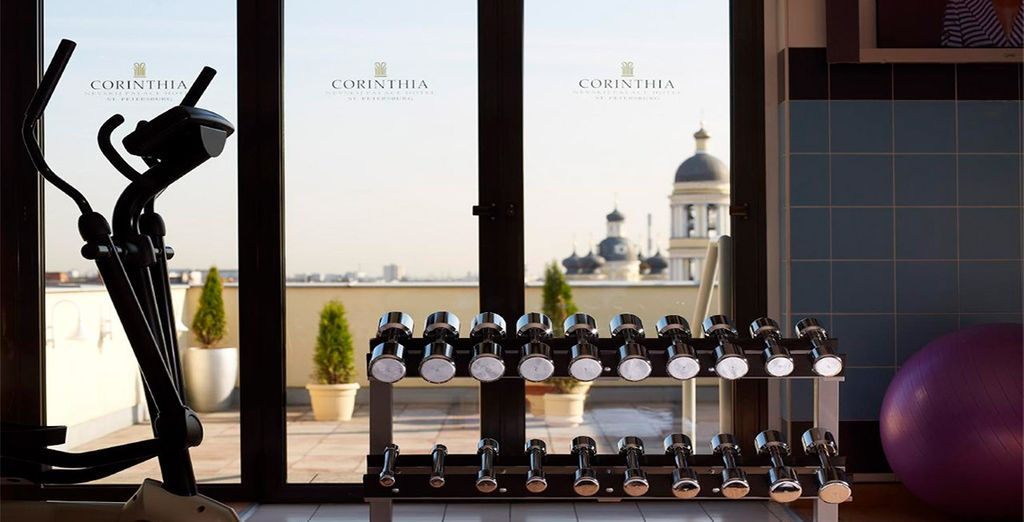 Start your day with workout with stunning views!