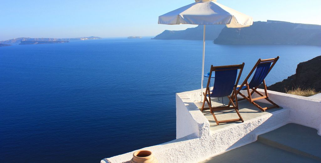 Take in the views from a well-placed sunlounger