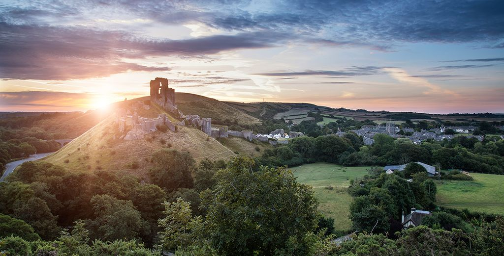 In the heart of historic Corfe Castle in Dorset