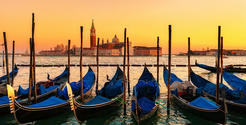 Let the romance and charms of Venice enchant you