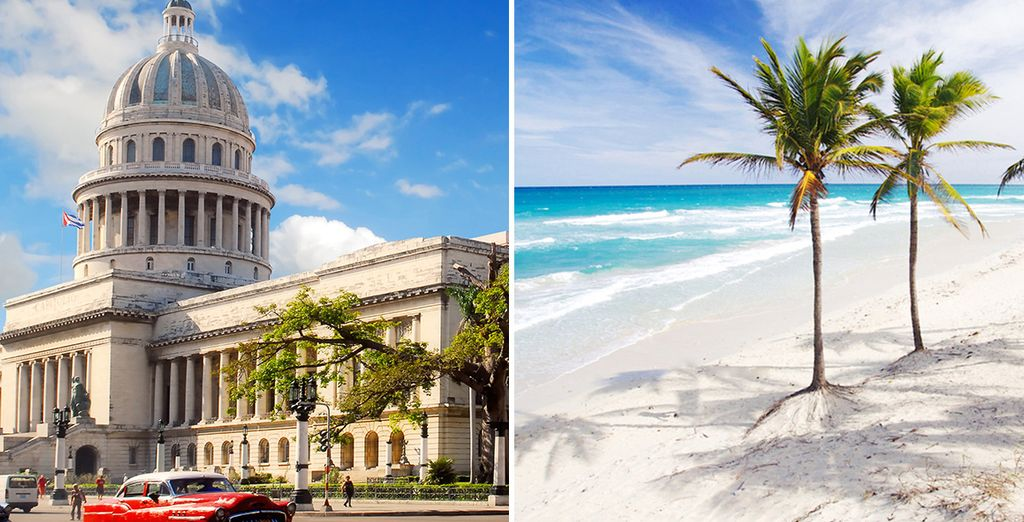 Experience the two sides of Cuba on this twin centre break