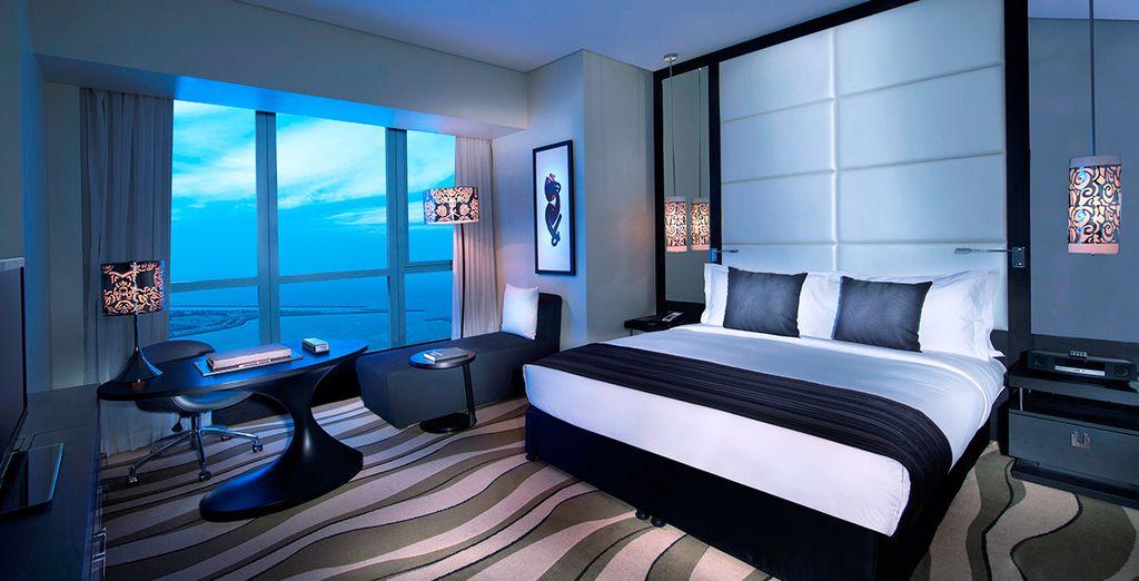 Enjoy an upgrade to Luxury Room