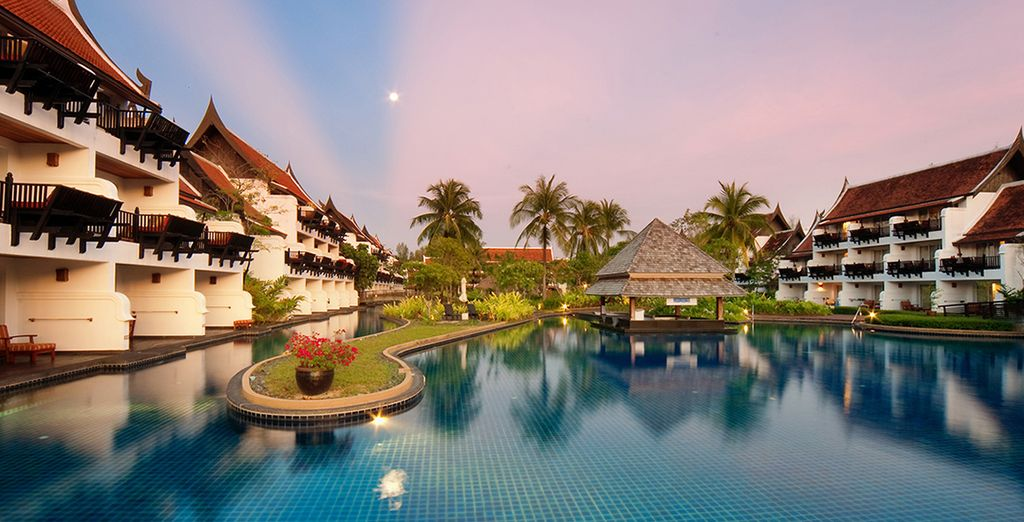Home to southeast Asia's longest swimming pool