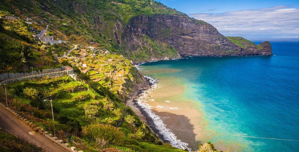 Explore the rocky roads of the coast