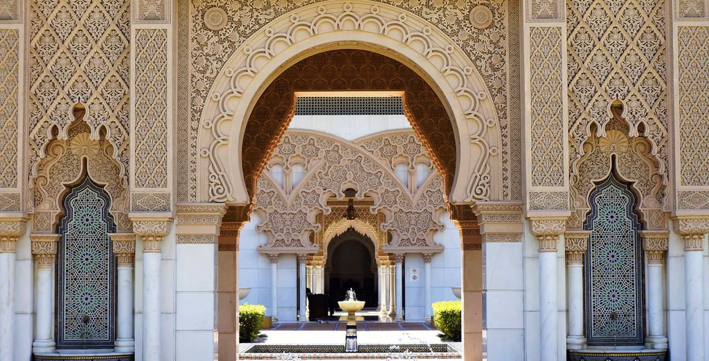 Then immerse yourself in the enchanting atmosphere of Marrakech