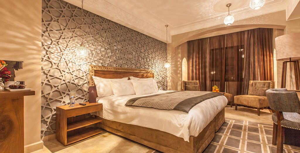 Enjoy the exclusive atmosphere of this luxury hotel