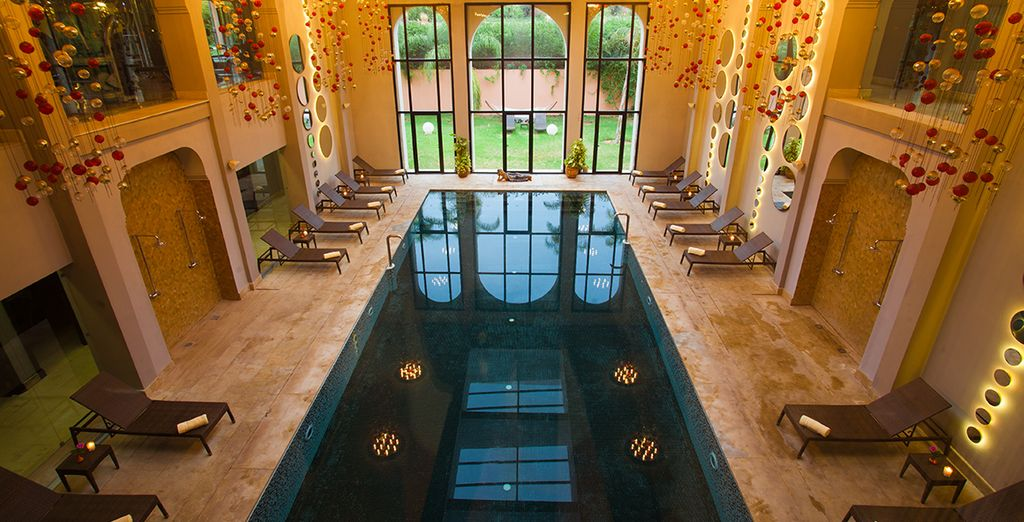 Or head to the spa and make the most of your 10% discount