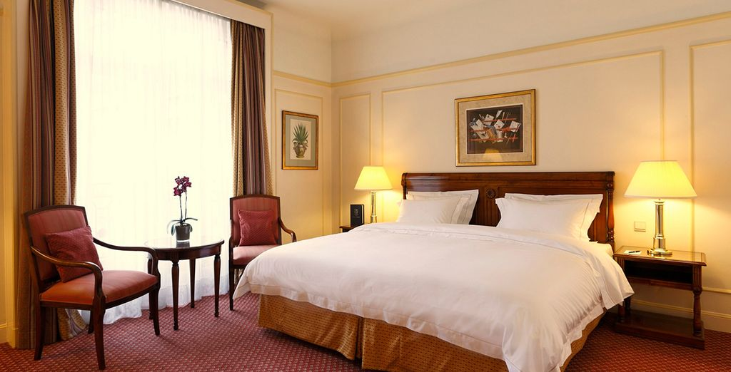 Stay in a Deluxe Room