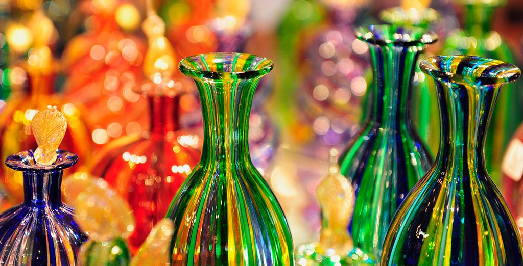 We've also included a complimentary trip to Murano