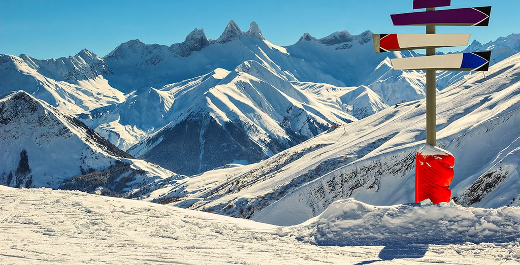 Located in the fabulous ski region of Les Sybelles
