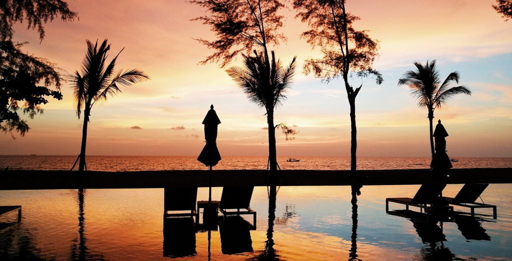 Set in a prime position on one of the most beautiful beaches of Khao Lak