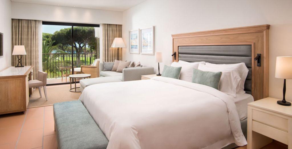 Choose Pine Cliffs Ocean Suites