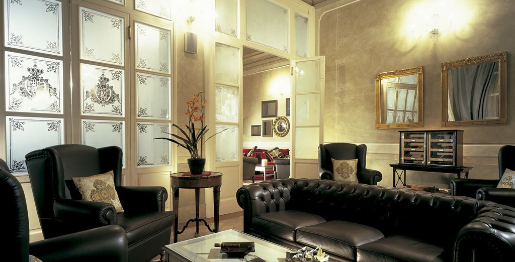 Lose yourself in a quiet, tucked away lounge