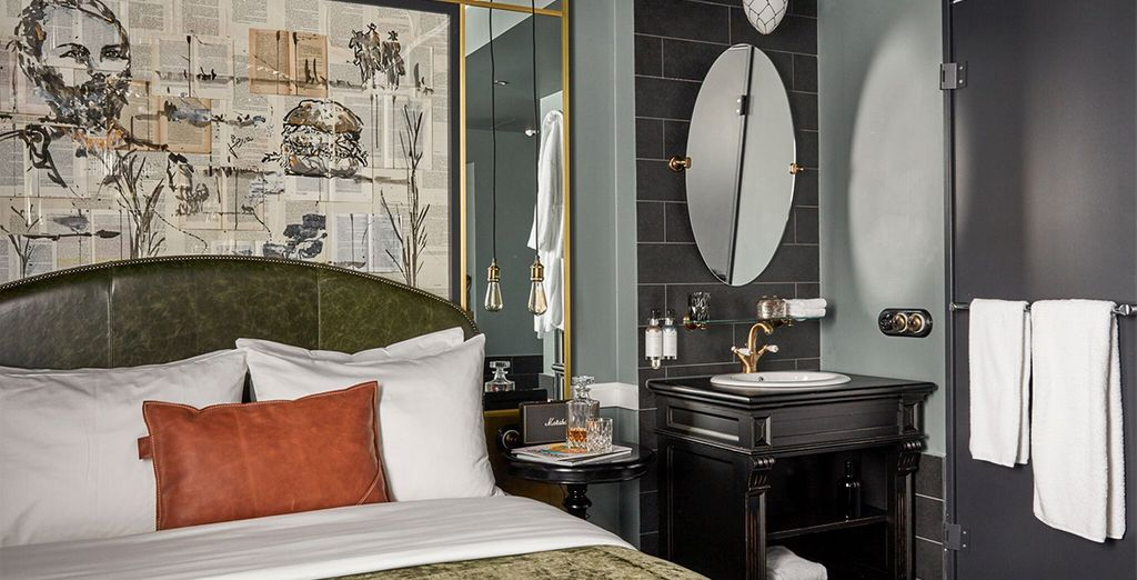 Our members can enjoy a Sir Boutique Room, with daily breakfast as an upgrade