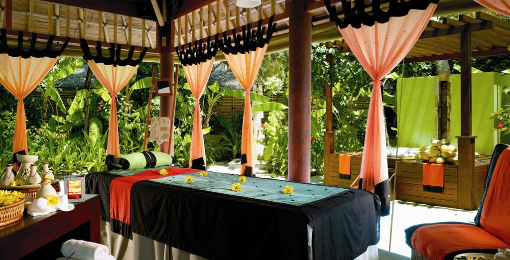 Or indulge in a spa treatment to help you relax