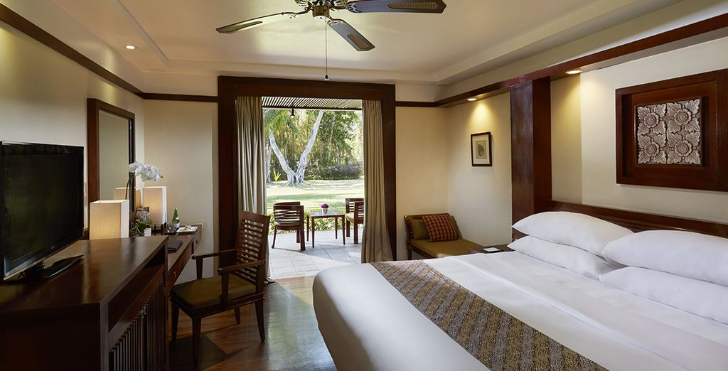 Where your bedroom  is spacious and sophisticated