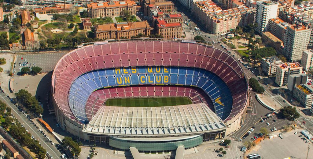 Or the Nou Camp stadium