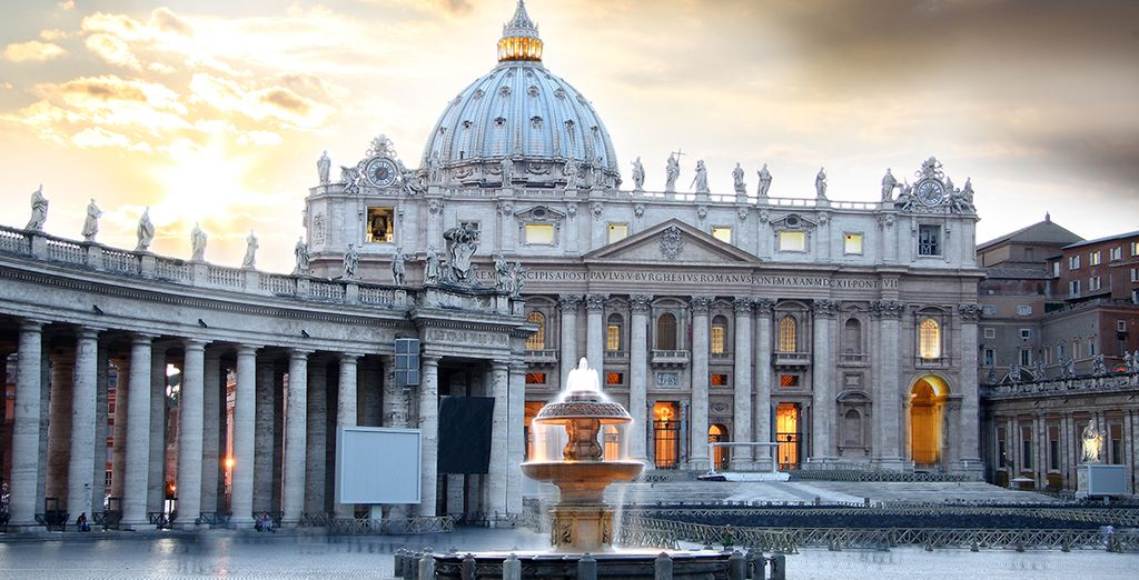 Bask in the glory of the Vatican