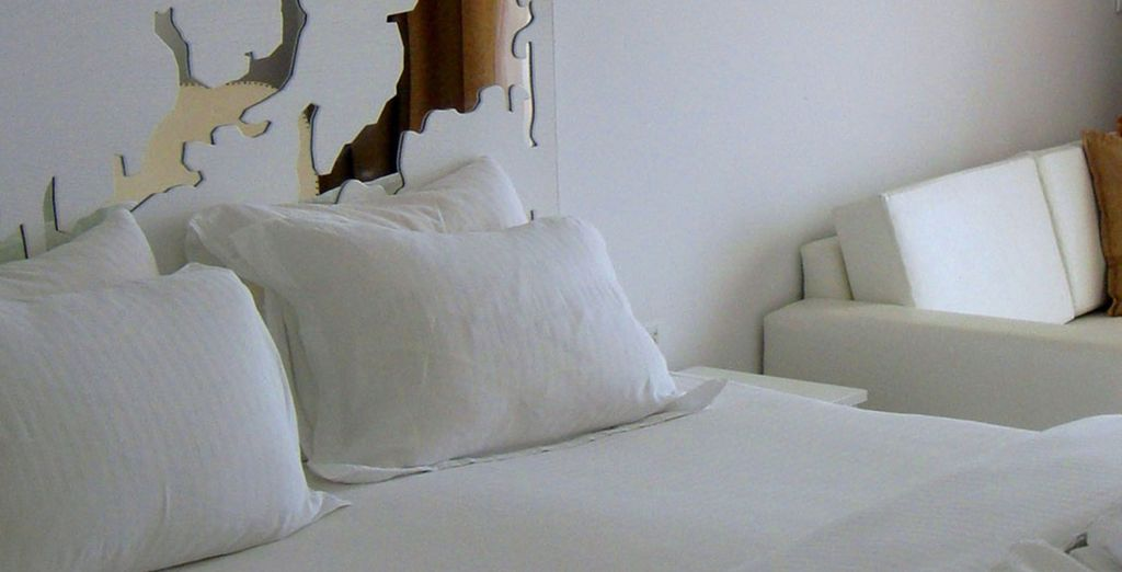 Choose from a cool and restful Superior Room