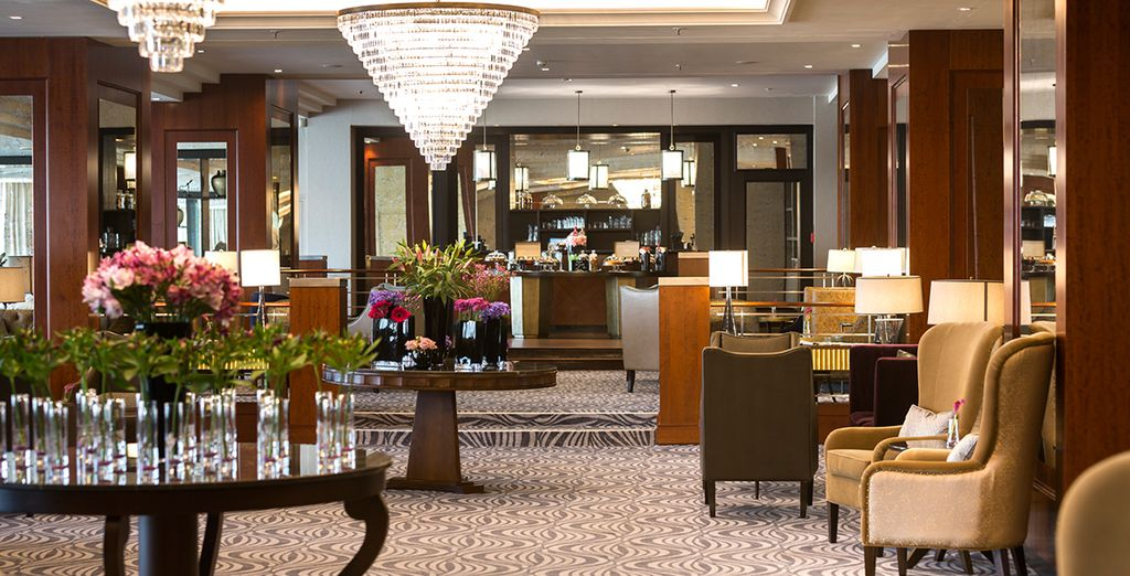 From the Corinthia Hotel Prague 5*
