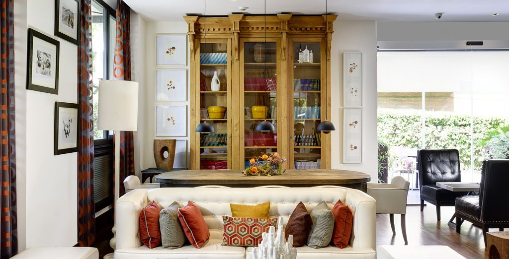 In a chic & contemporary property