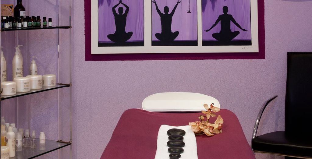 Soothe your senses with a massage
