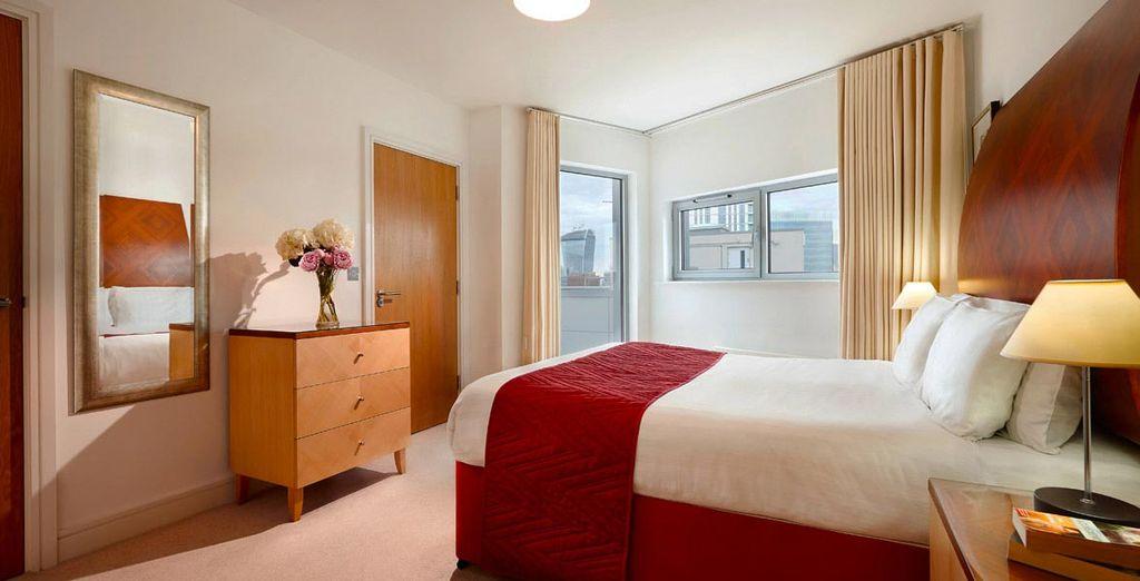 Enjoy a spacious apartment