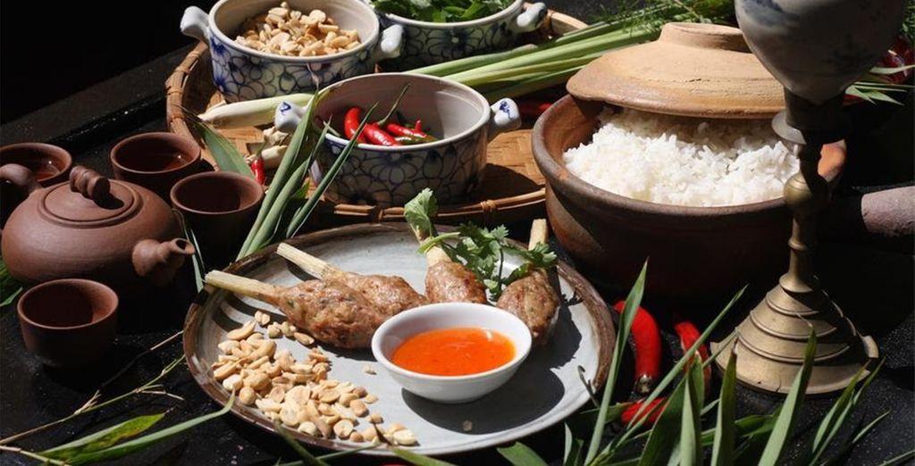 Delicious cuisine...