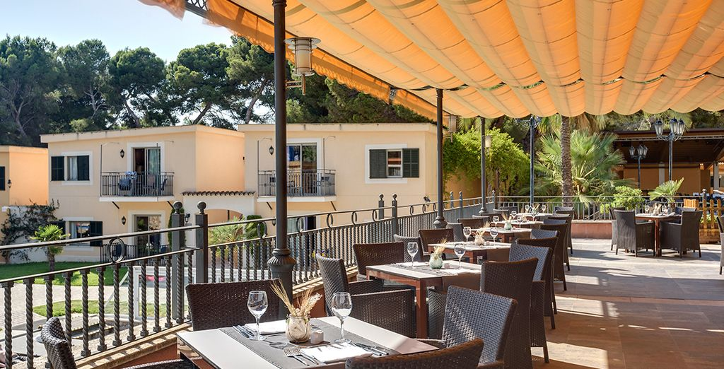 A delicious place to eat while enjoy the Spanish sun
