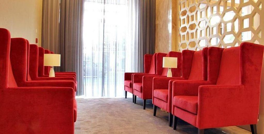 Offers stylish interiors