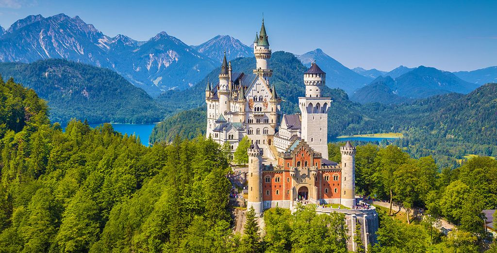 Bavaria is home to fairytale sights