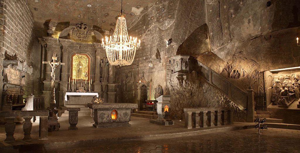 Experience the Salt Mine in Wieliczka