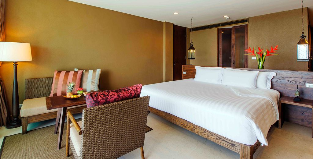 Enjoy an upgrade to a Deluxe Room