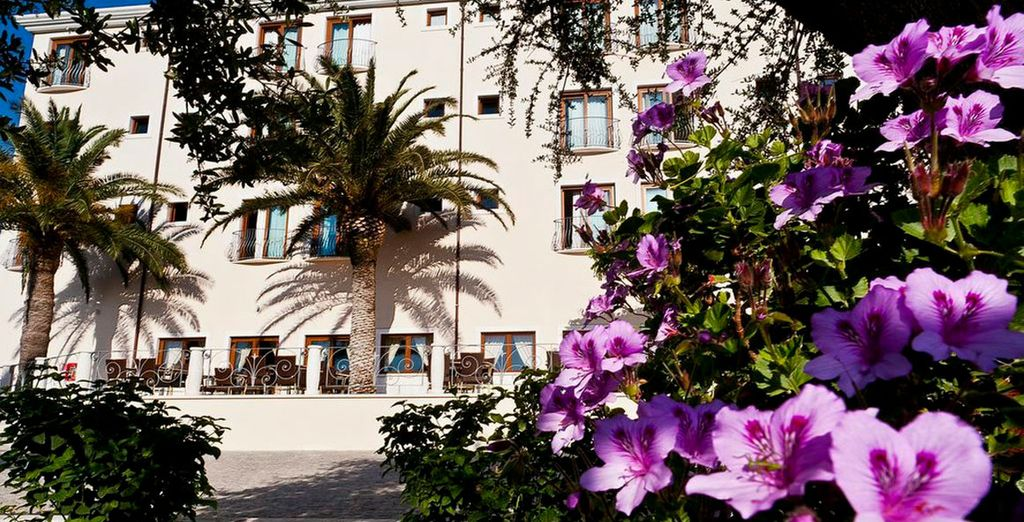 Stay at the charming Hotel Brancamaria 4*