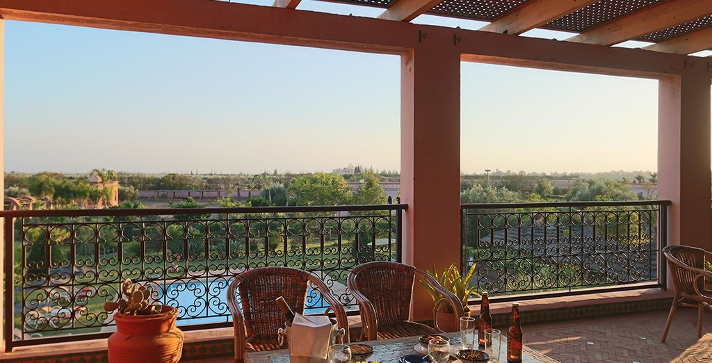 A quiet boutique riad just 30 minutes from the centre of Marrakesh