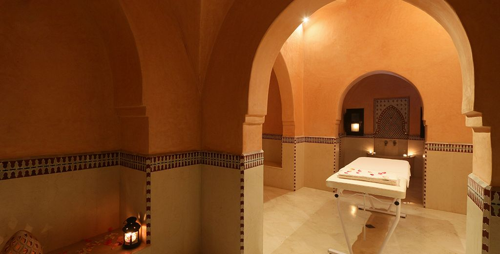 Retreat to the spa